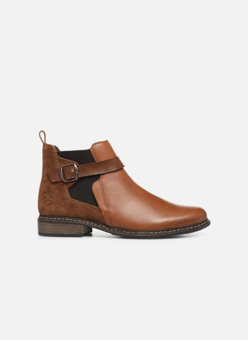Bottines et boots Rieker Florianne Marron vue derrière