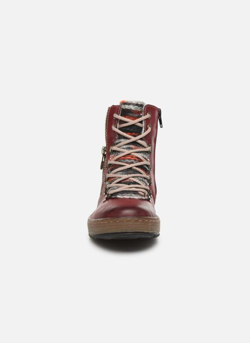 Ankle boots Rieker Constance Burgundy model view