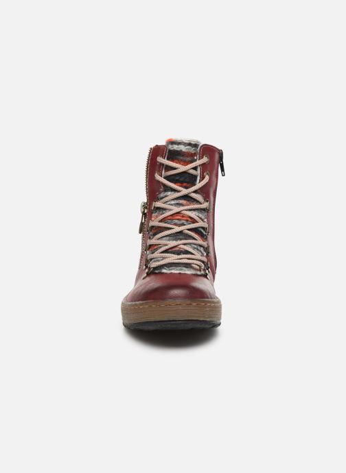 Bottines et boots Rieker Constance Bordeaux vue portées chaussures