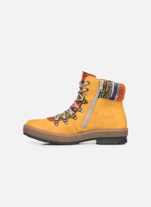 Bottines et boots Rieker Ilam Jaune vue face