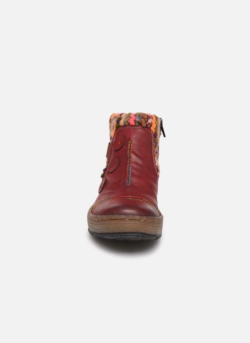 Bottines et boots Rieker Hortense Bordeaux vue portées chaussures