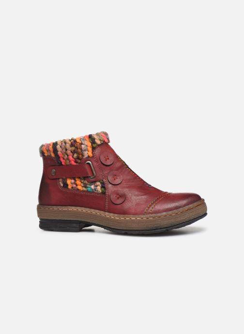 Bottines et boots Rieker Hortense Bordeaux vue derrière