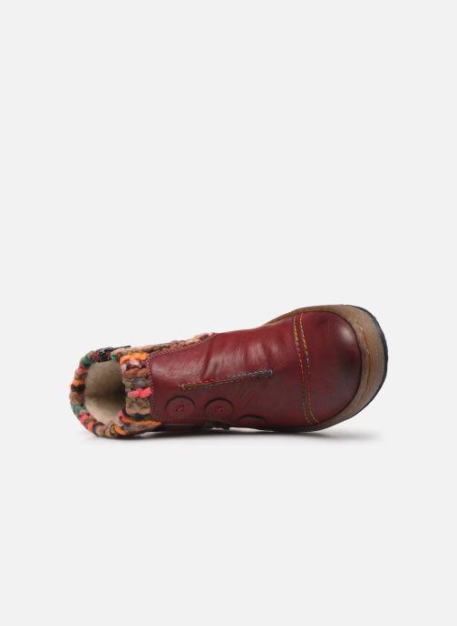 Bottines et boots Rieker Hortense Bordeaux vue gauche