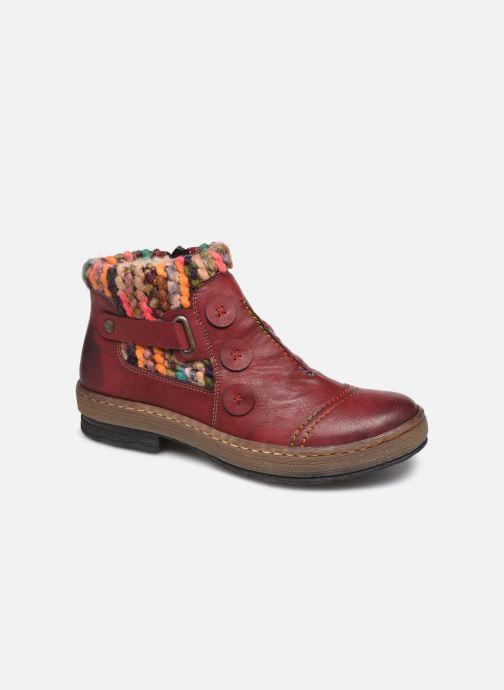 Bottines et boots Rieker Hortense Bordeaux vue détail/paire