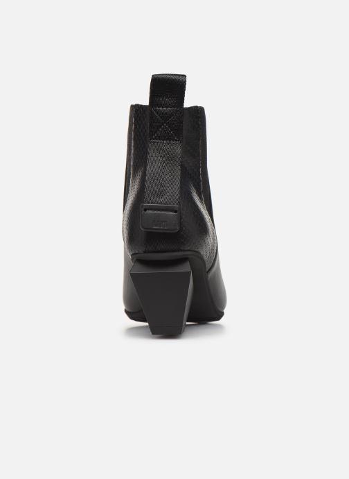 Bottines et boots United Nude Jacky Tek Bootie Mid Noir vue droite