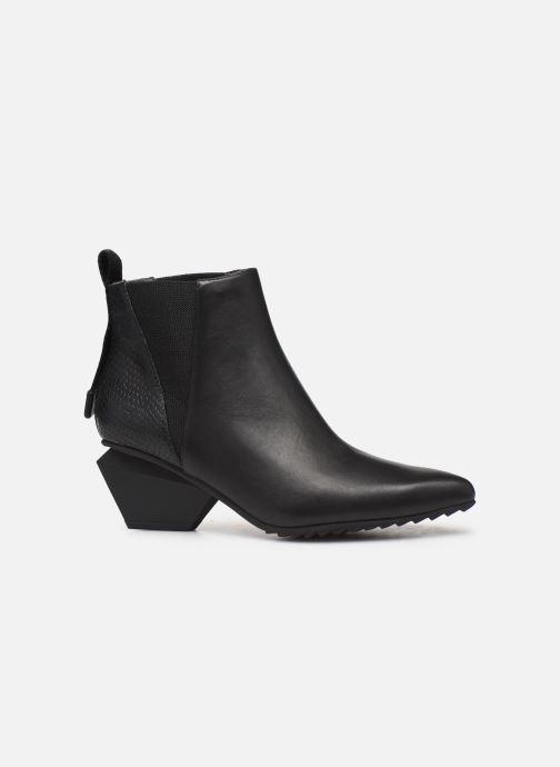 Bottines et boots United Nude Jacky Tek Bootie Mid Noir vue derrière