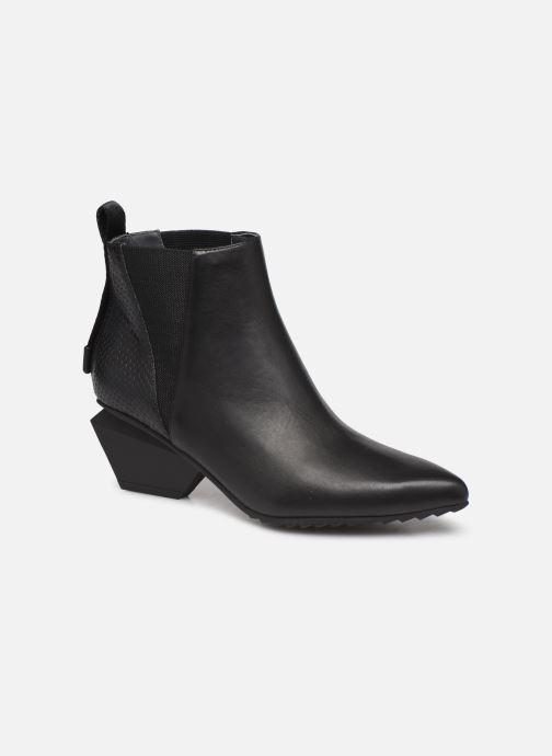 Boots en enkellaarsjes United Nude Jacky Tek Bootie Mid Zwart detail