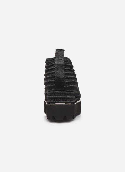 Baskets United Nude Fold Casual II Noir vue droite
