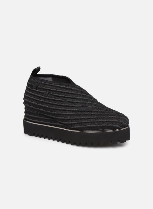 Sneakers United Nude Fold Casual II Zwart detail