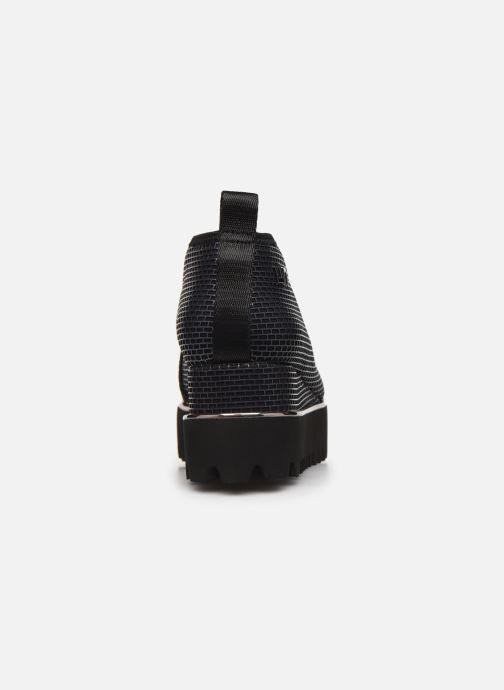 Sneakers United Nude Fold Casual II Zilver rechts