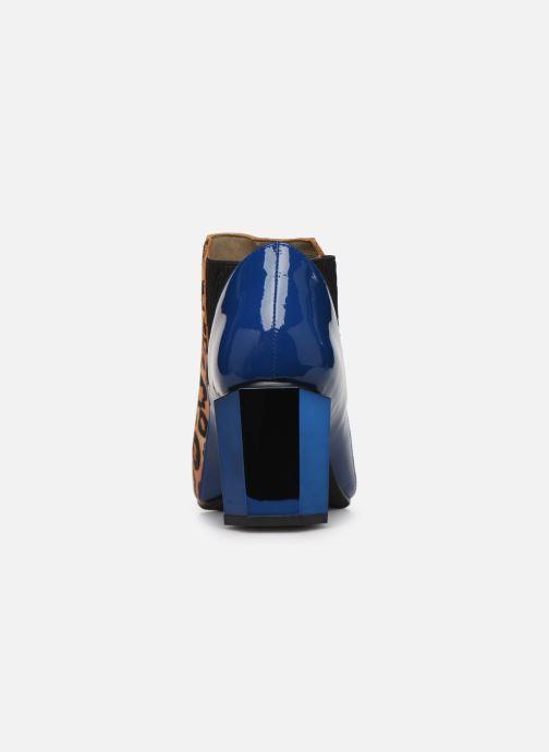 Bottines et boots United Nude Tetra Jackie Mid Multicolore vue droite