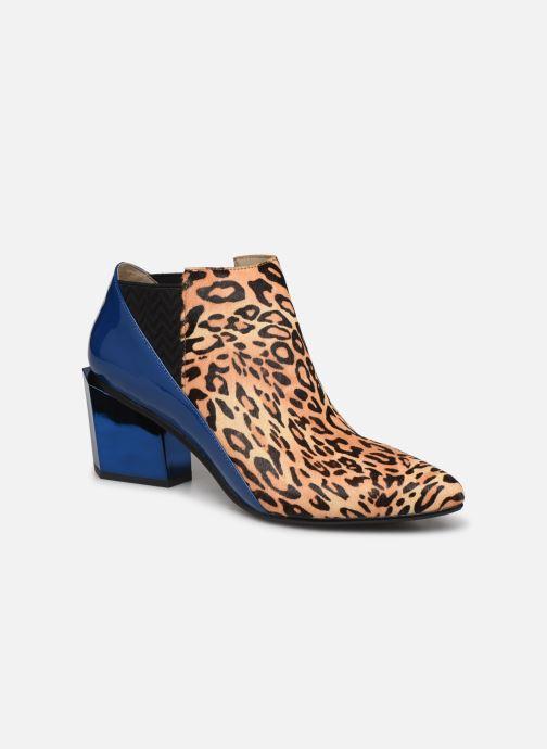 Bottines et boots United Nude Tetra Jackie Mid Multicolore vue détail/paire