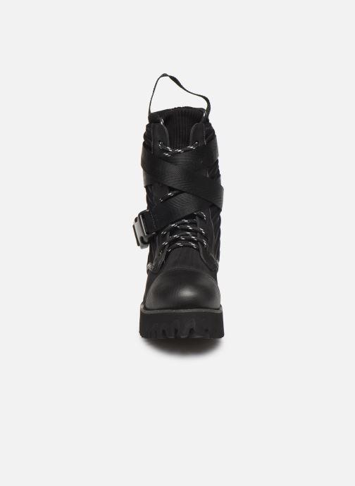 Bottines et boots United Nude Combat Tek Noir vue portées chaussures