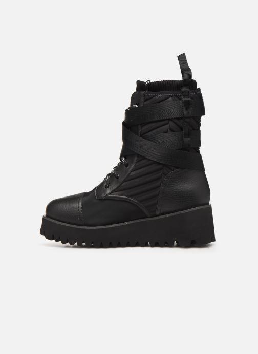 Bottines et boots United Nude Combat Tek Noir vue face