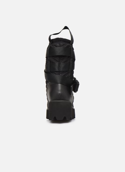 Bottines et boots United Nude Combat Tek Noir vue droite