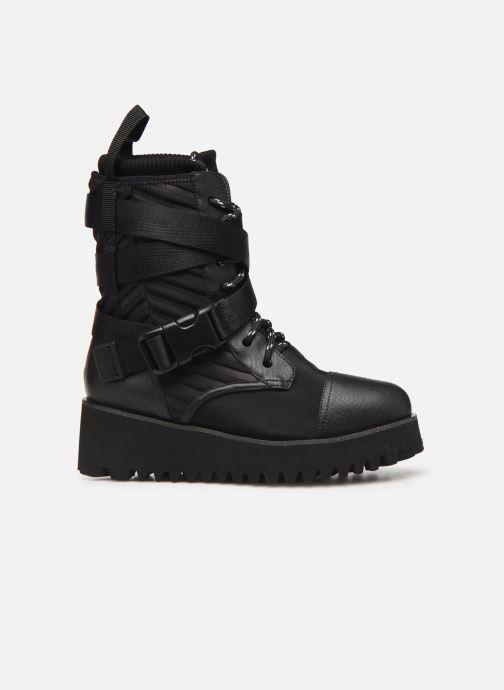 Bottines et boots United Nude Combat Tek Noir vue derrière