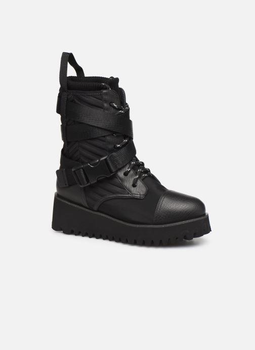 Bottines et boots United Nude Combat Tek Noir vue détail/paire