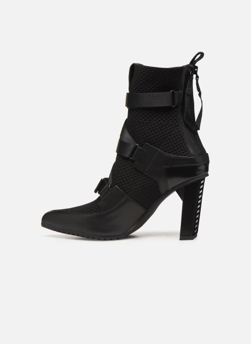 Bottines et boots United Nude Luxor Sport Hi Noir vue face