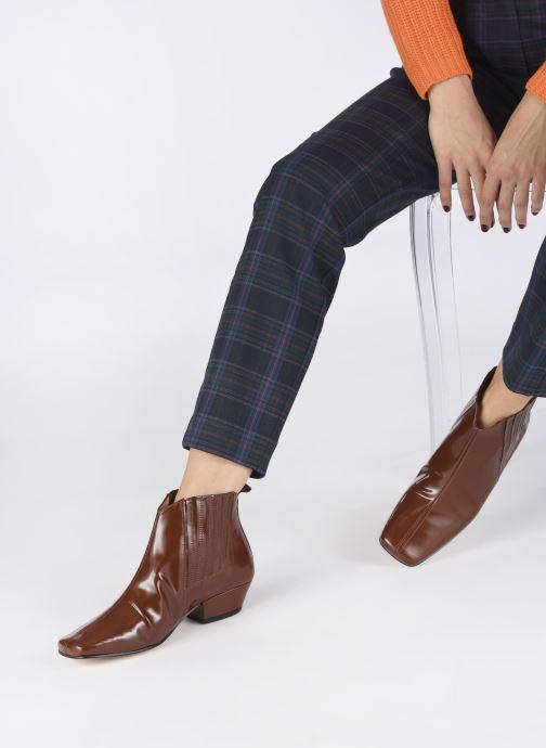 Bottines et boots About Arianne Gloria Marron vue bas / vue portée sac