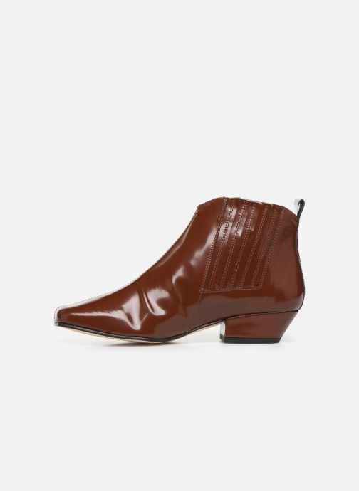 Bottines et boots About Arianne Gloria Marron vue face