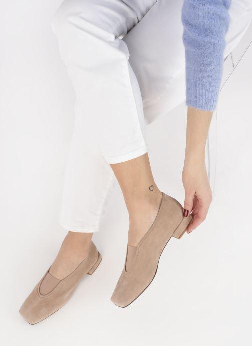 Ballerinas About Arianne Gillian beige ansicht von unten / tasche getragen
