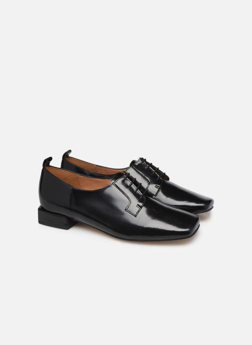 Zapatos con cordones About Arianne Joseph Negro vista 3/4