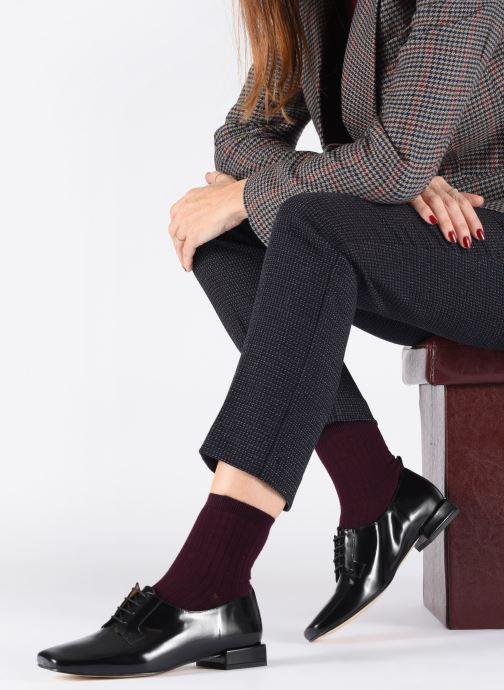 Chaussures à lacets About Arianne Joseph Noir vue bas / vue portée sac