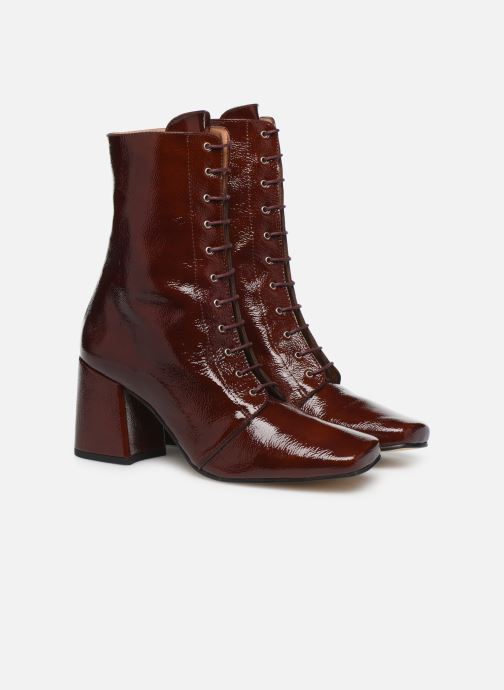 Bottines et boots About Arianne Steevie Marron vue 3/4