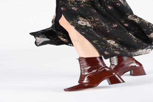 Bottines et boots About Arianne Steevie Marron vue bas / vue portée sac