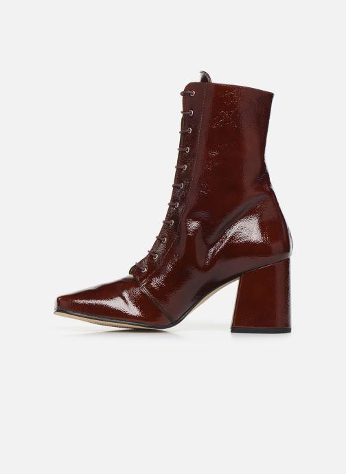 Bottines et boots About Arianne Steevie Marron vue face