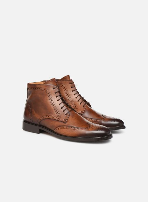 Bottines et boots Marvin&Co Luxe Perna - Cousu Blake Marron vue 3/4