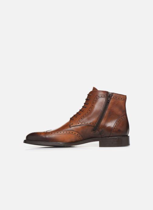 Boots en enkellaarsjes Marvin&Co Luxe Perna - Cousu Blake Bruin voorkant