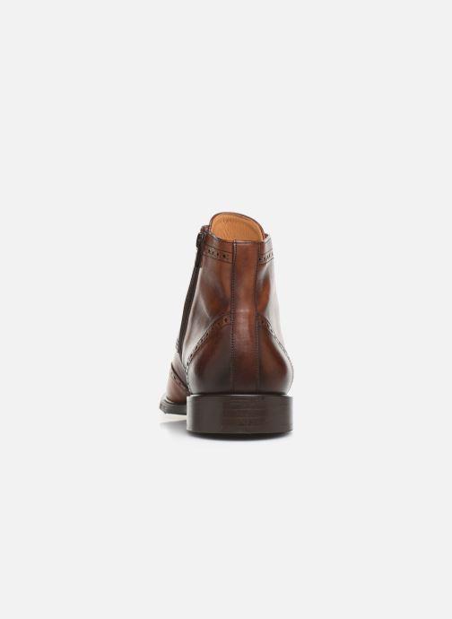 Bottines et boots Marvin&Co Luxe Perna - Cousu Blake Marron vue droite