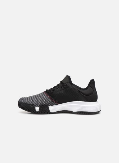 Sportschoenen adidas performance Gamecourt M Zwart voorkant