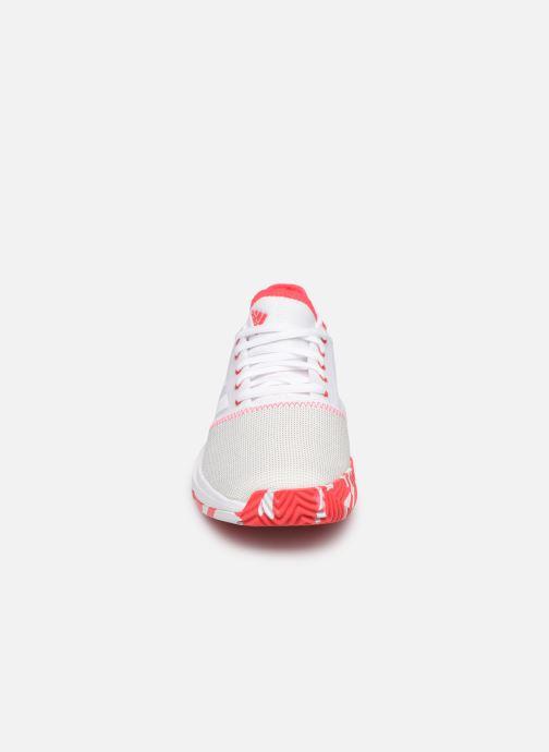 Chaussures de sport adidas performance Gamecourt W multico Blanc vue portées chaussures