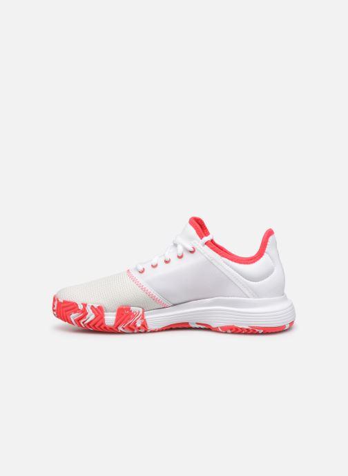 Chaussures de sport adidas performance Gamecourt W multico Blanc vue face