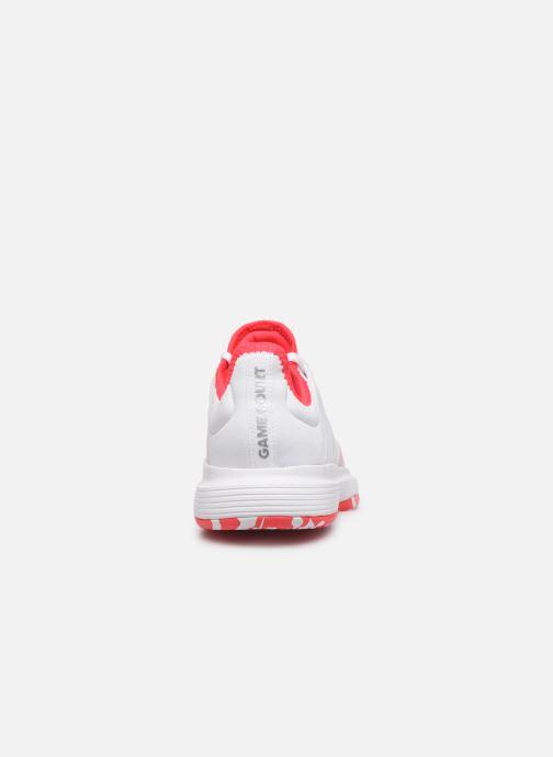 Chaussures de sport adidas performance Gamecourt W multico Blanc vue droite