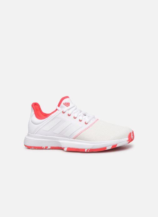 Chaussures de sport adidas performance Gamecourt W multico Blanc vue derrière
