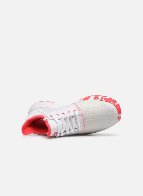 Sport shoes adidas performance Gamecourt W multico White view from the left