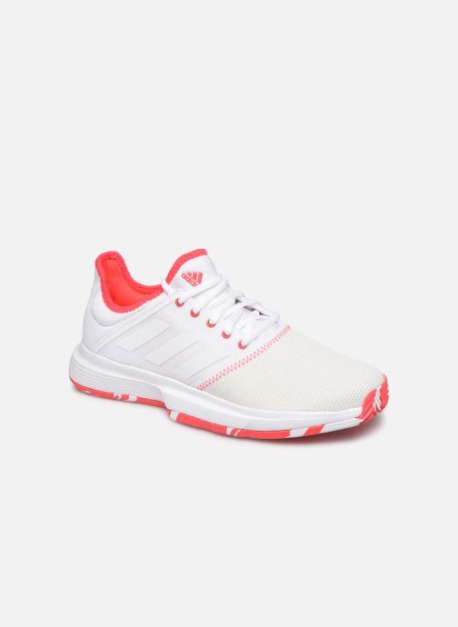 Chaussures de sport adidas performance Gamecourt W multico Blanc vue détail/paire