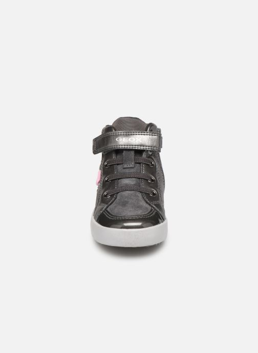 Baskets Geox B Kilwi Girl B94D5A Gris vue portées chaussures