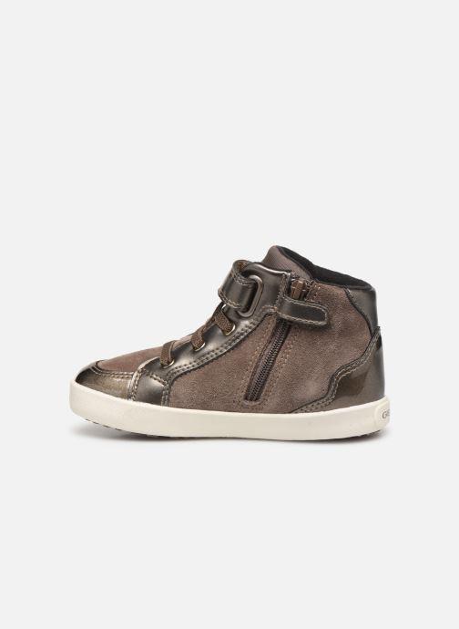 Sneakers Geox B Kilwi Girl B94D5A Bruin voorkant