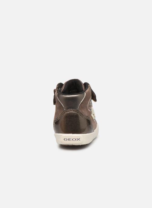Sneakers Geox B Kilwi Girl B94D5A Bruin rechts