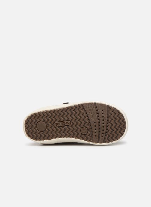 Baskets Geox B Kilwi Girl B94D5A Marron vue haut