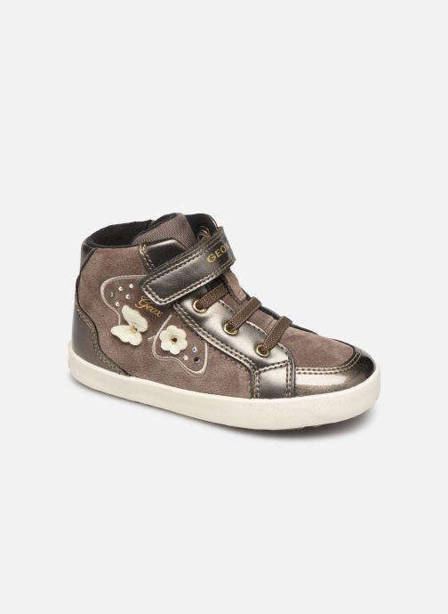 Sneakers Geox B Kilwi Girl B94D5A Bruin detail