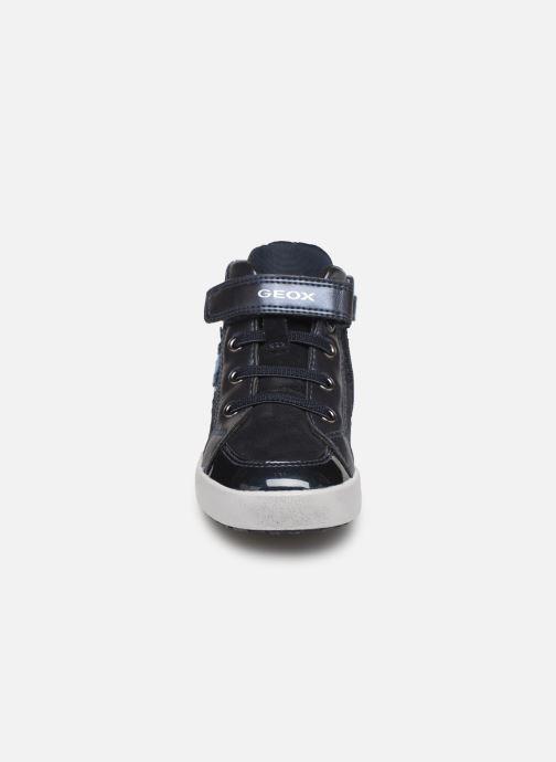 Baskets Geox B Kilwi Girl B94D5A Bleu vue portées chaussures