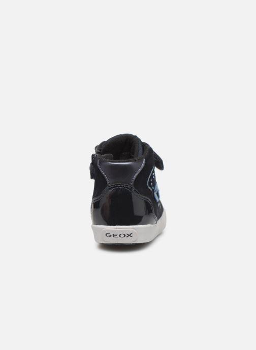 Sneakers Geox B Kilwi Girl B94D5A Blauw rechts