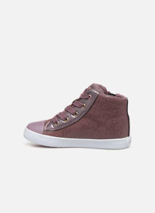 Sneakers Geox B Kilwi Girl B94D5C Roze voorkant