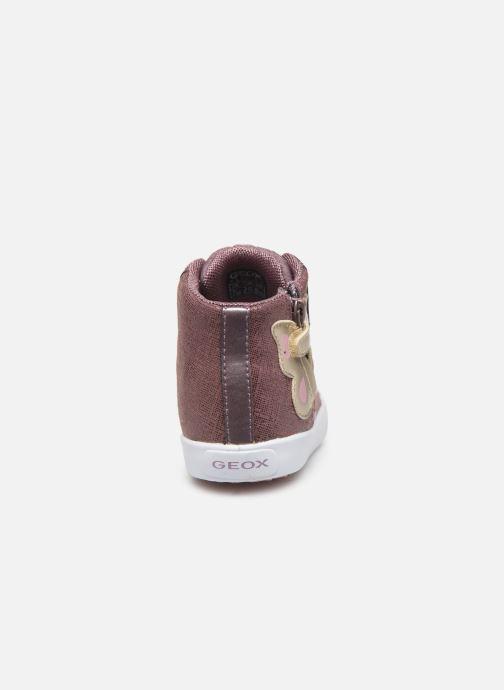 Sneakers Geox B Kilwi Girl B94D5C Roze rechts