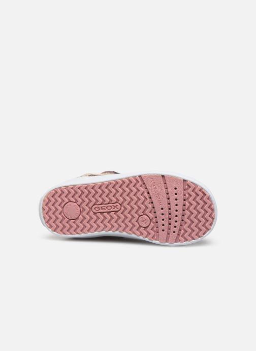 Sneakers Geox B Kilwi Girl B94D5C Roze boven